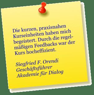 Siegfried F. Orendi